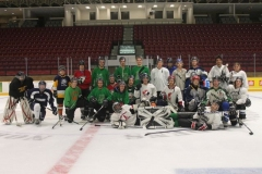 2013-2014-Paul-Nelson-Memorial-Hockey-Game.Alumni-in-colour-current-PHED-students-in-white